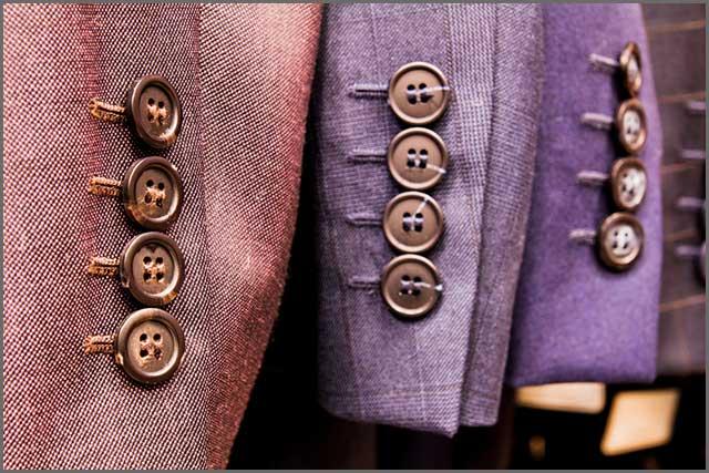 pressed wool suits