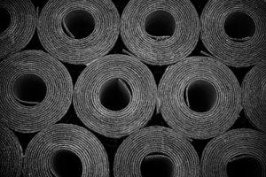 A roll of felt paper