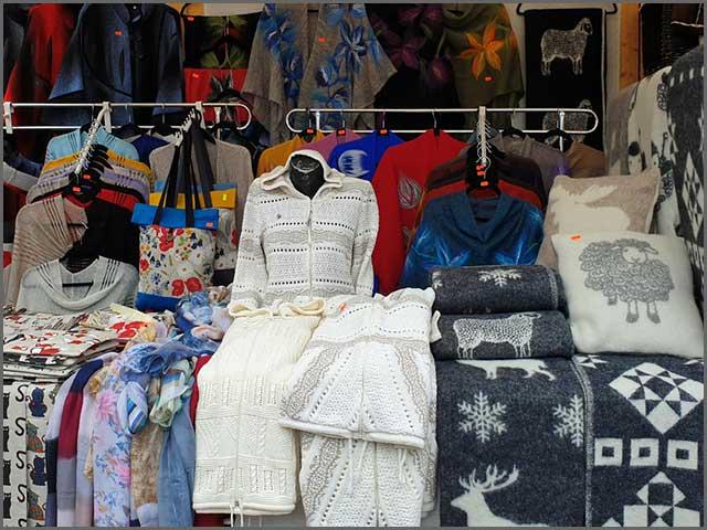 Wool felt handmade clothes
